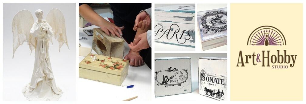 Warsztaty rękodzieła w sklepie Art & Hobby Studio