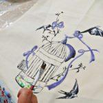 arthobbystudio warsztaty decoupage tkanina 3 150x150