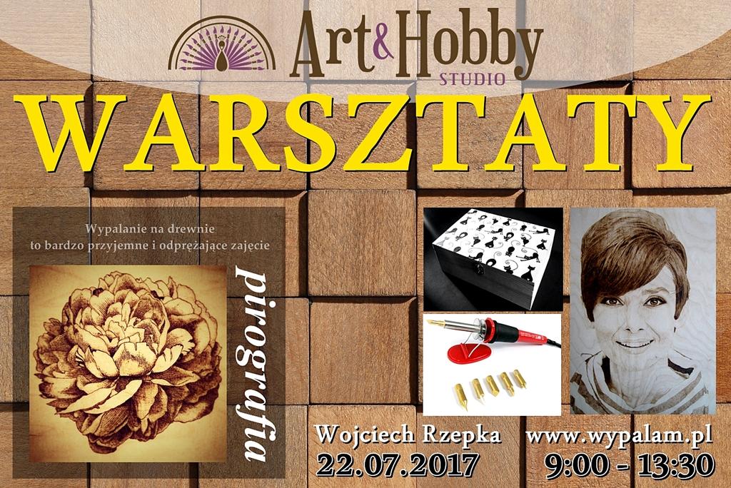 arthobbystudio warsztaty pirografia Fb