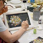 art hobby studioDSC 0996warsztaty efekt firanki ramka obrazek 150x150