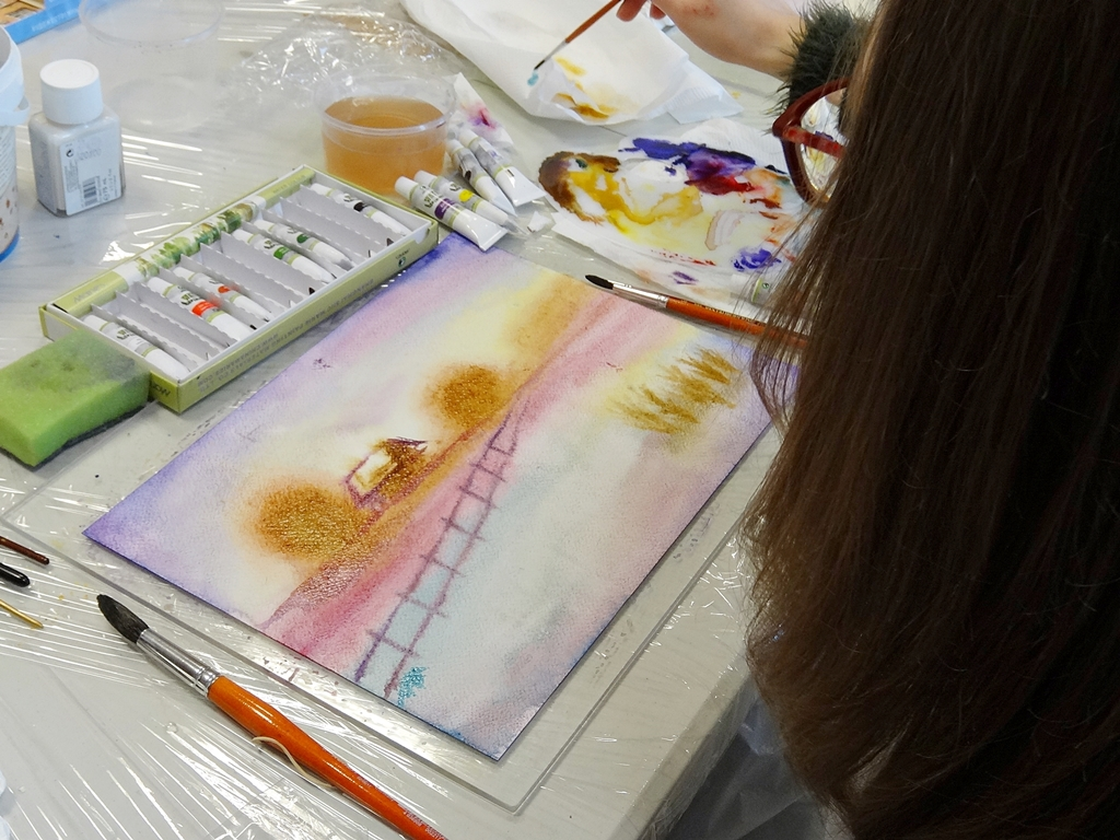 arthobbystudio lublin0003warsztaty akwarela malarstwo