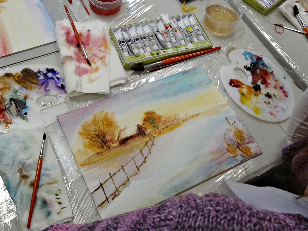 arthobbystudio lublin0007warsztaty akwarela malarstwo