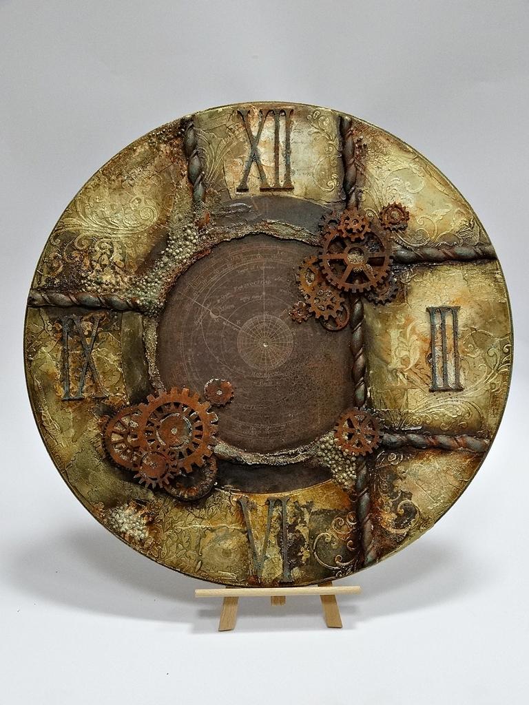 arthobbystudio lublin0035warsztaty beata woskowiak zegar alchemia czasu mixmedia