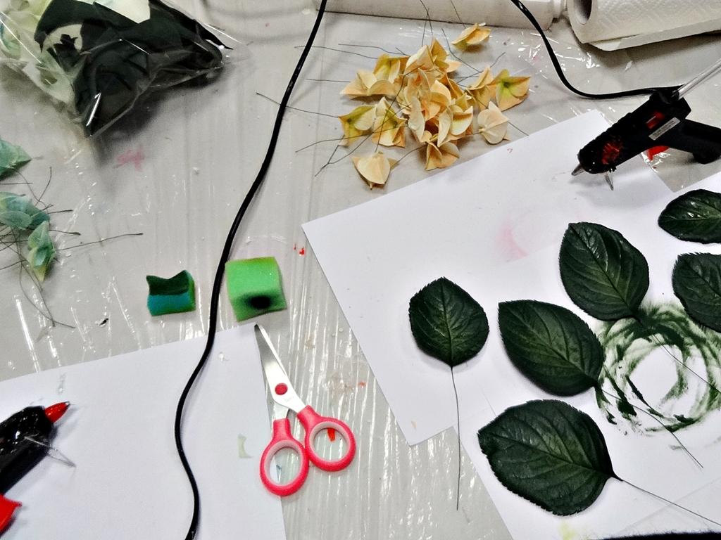 arthobbystudio lublin0001warsztaty foamiran lina hortensja