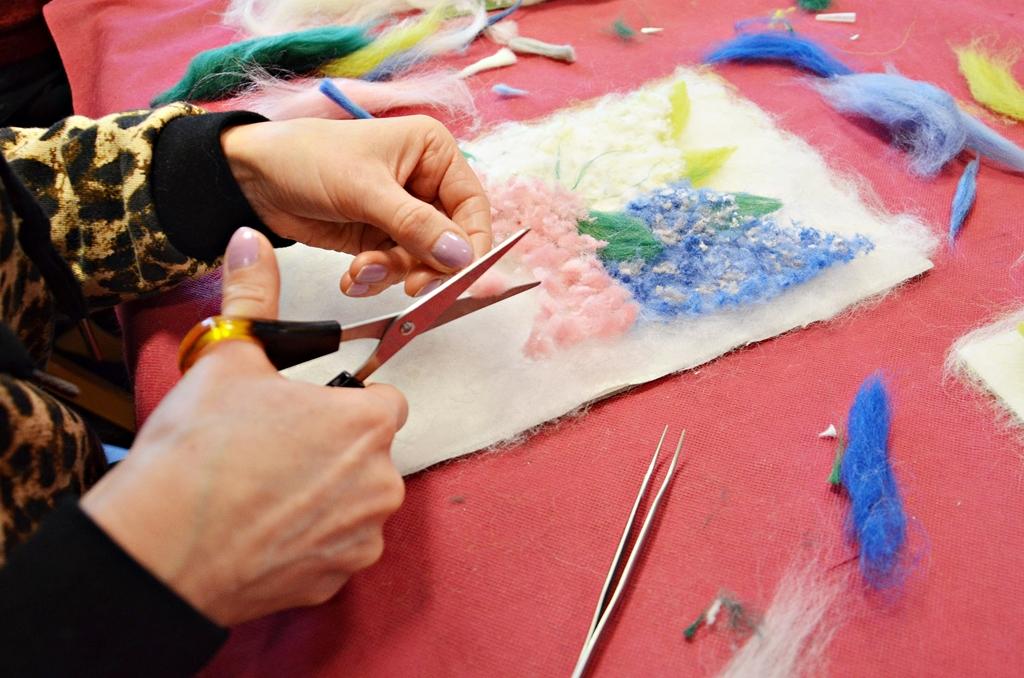 arthobbystudio lublin0004warsztaty kwiaty welna malowane