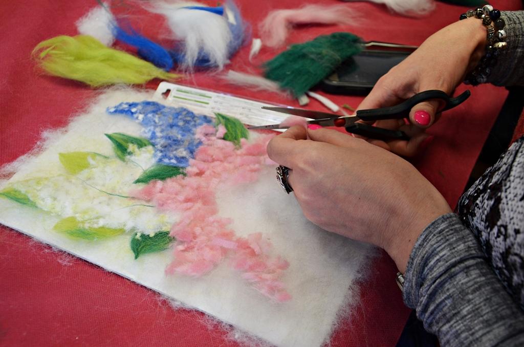 arthobbystudio lublin0008warsztaty kwiaty welna malowane