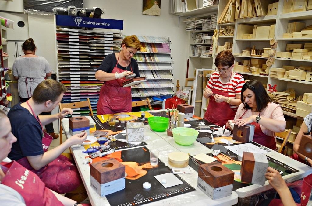 art hobby studioDSC 0055warsztaty chustecznik styl indrustialny zofia szewczyk