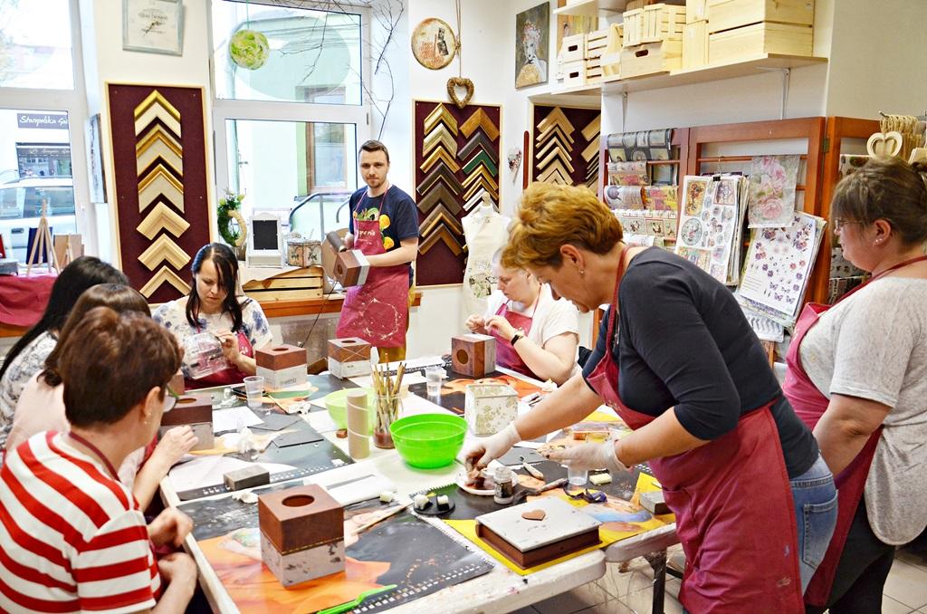 art hobby studioDSC 0073warsztaty chustecznik styl indrustialny zofia szewczyk