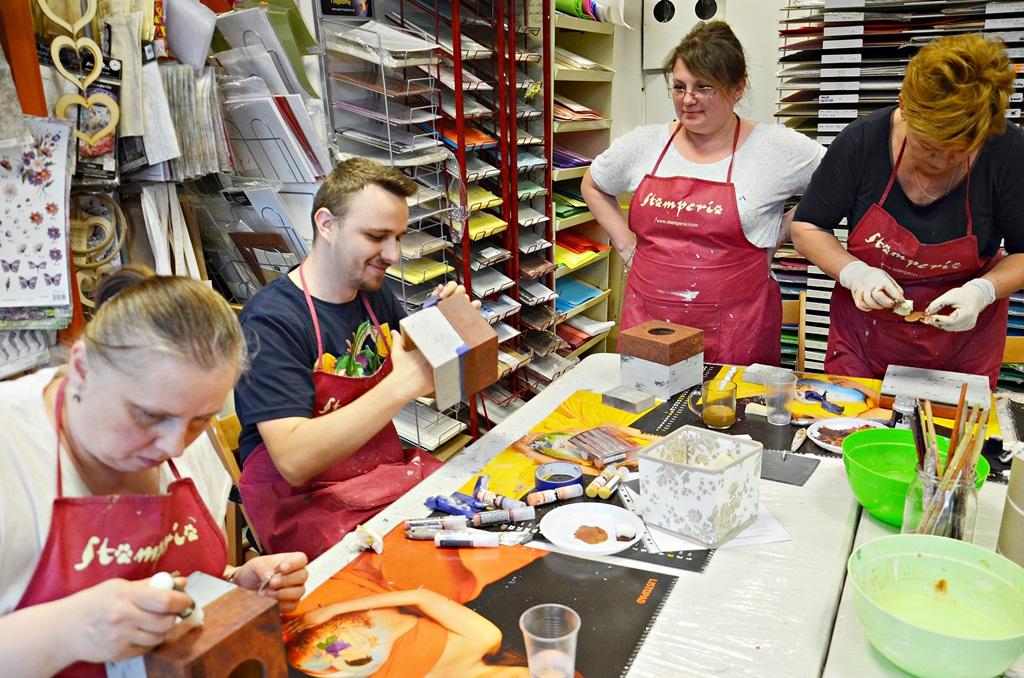 art hobby studioDSC 0085warsztaty chustecznik styl indrustialny zofia szewczyk