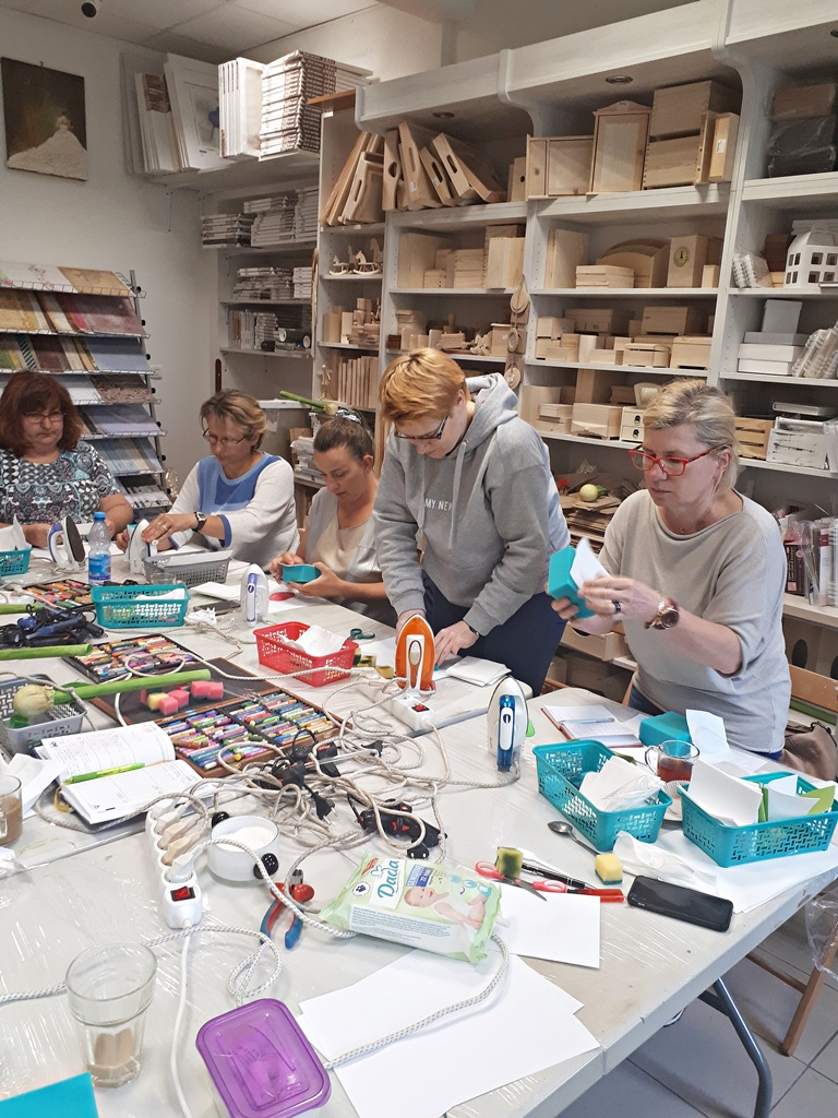 art hobby studio20180519 105658warsztaty foamiran amarylis