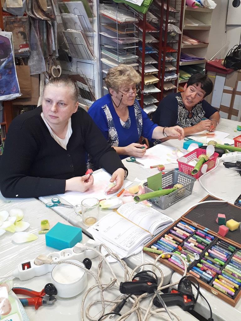 art hobby studio20180519 120006warsztaty foamiran amarylis