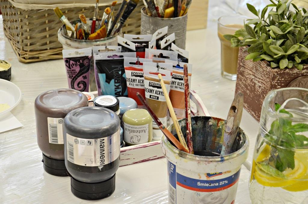 art hobby studioDSC 0205warsztaty shabby chic pudelko ornament sztukateria retro vintage stara szufladka zofia szewczyk