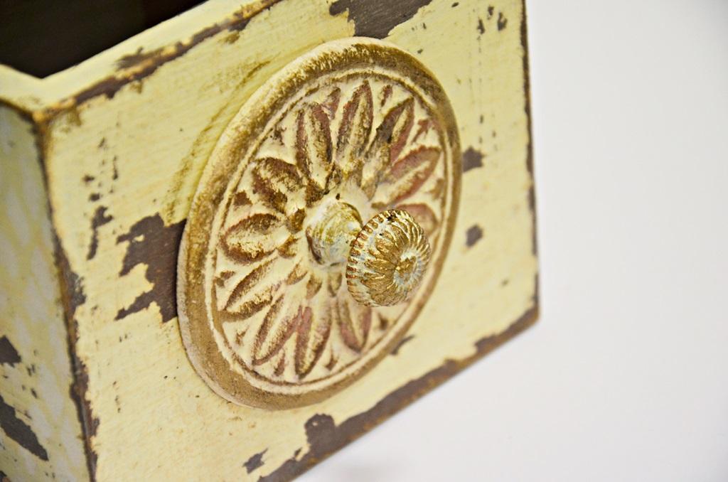 art hobby studioDSC 0229warsztaty shabby chic pudelko ornament sztukateria retro vintage stara szufladka zofia szewczyk