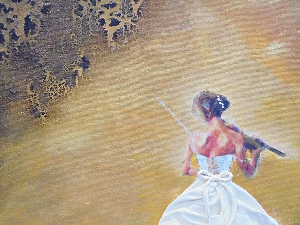 arthobbystudio lublin0007warsztaty obraz dama w sukni powertex