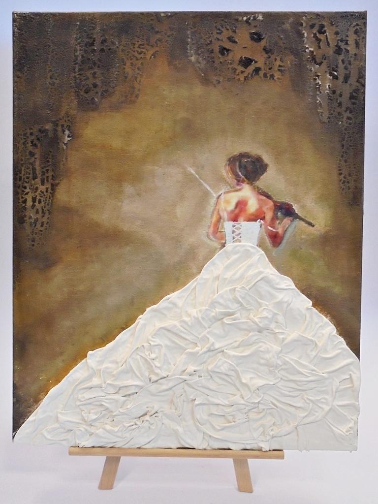 arthobbystudio lublin0008warsztaty obraz dama w sukni powertex