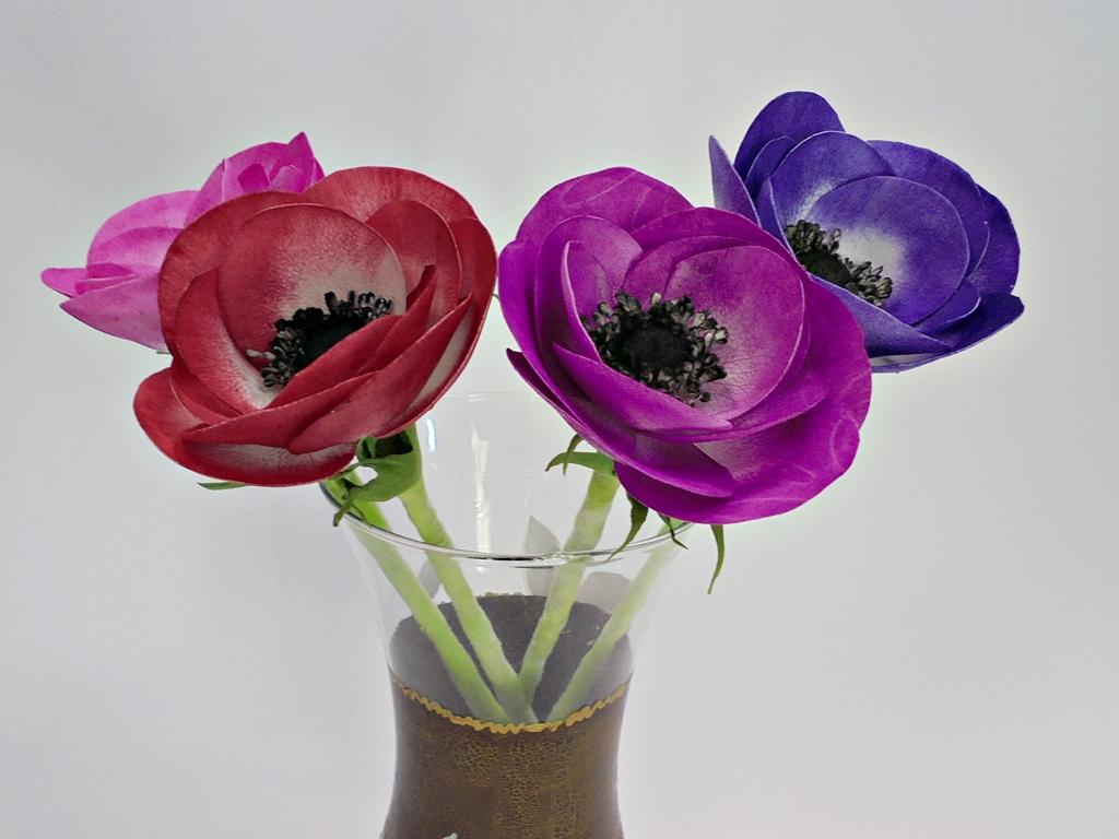 arthobbystudio lublin0009warsztaty foamiran anemony kwiaty