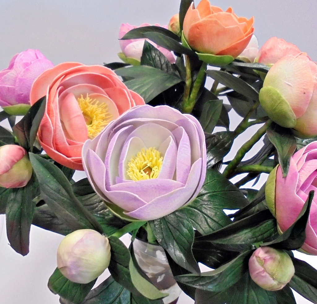 arthobbystudio lublin0009warsztaty foamiran peonia kwiaty