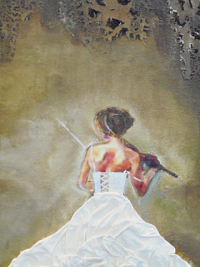 arthobbystudio lublin0009warsztaty obraz dama w sukni powertex