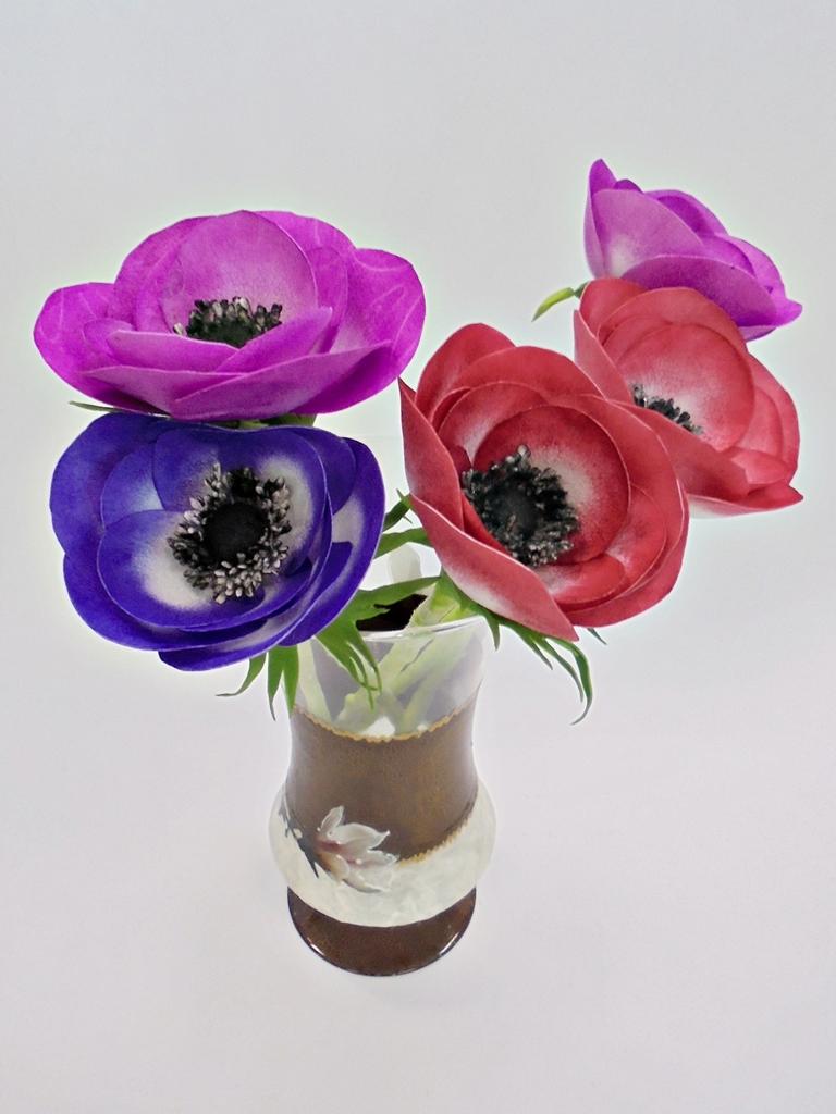 arthobbystudio lublin0010warsztaty foamiran anemony kwiaty
