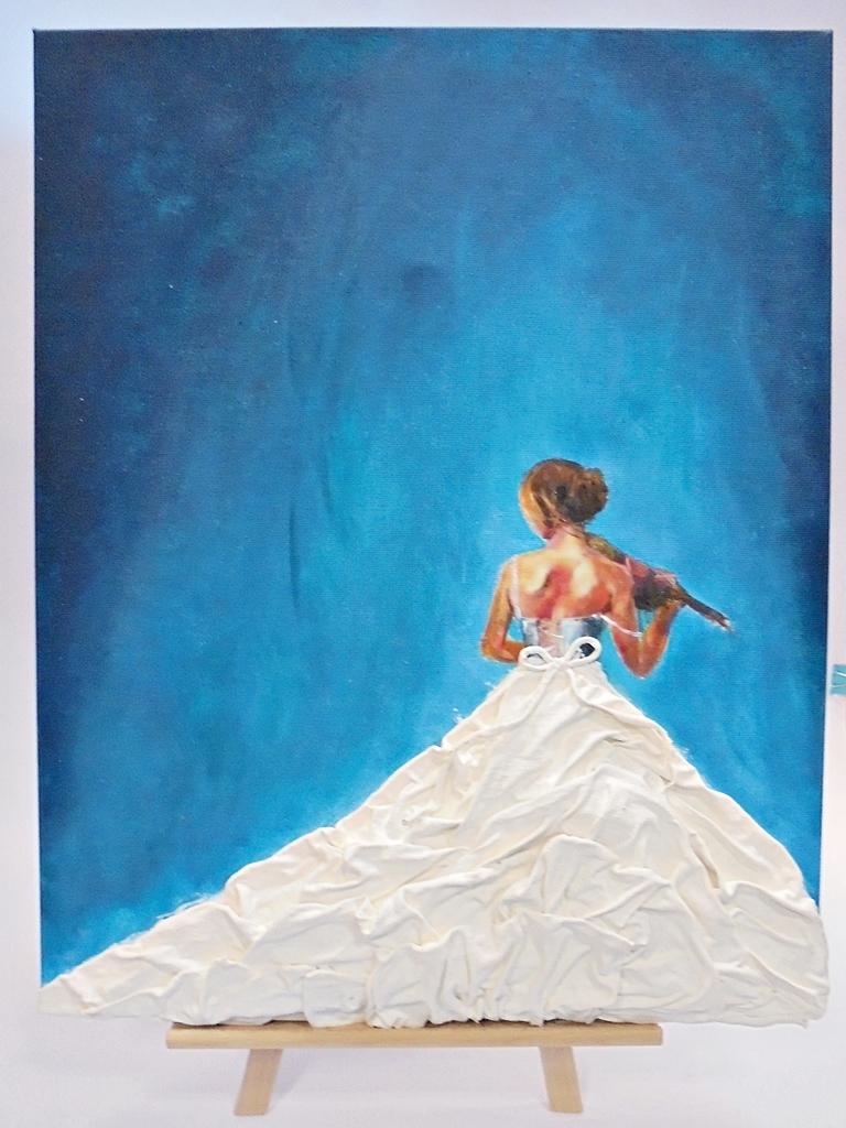 arthobbystudio lublin0010warsztaty obraz dama w sukni powertex