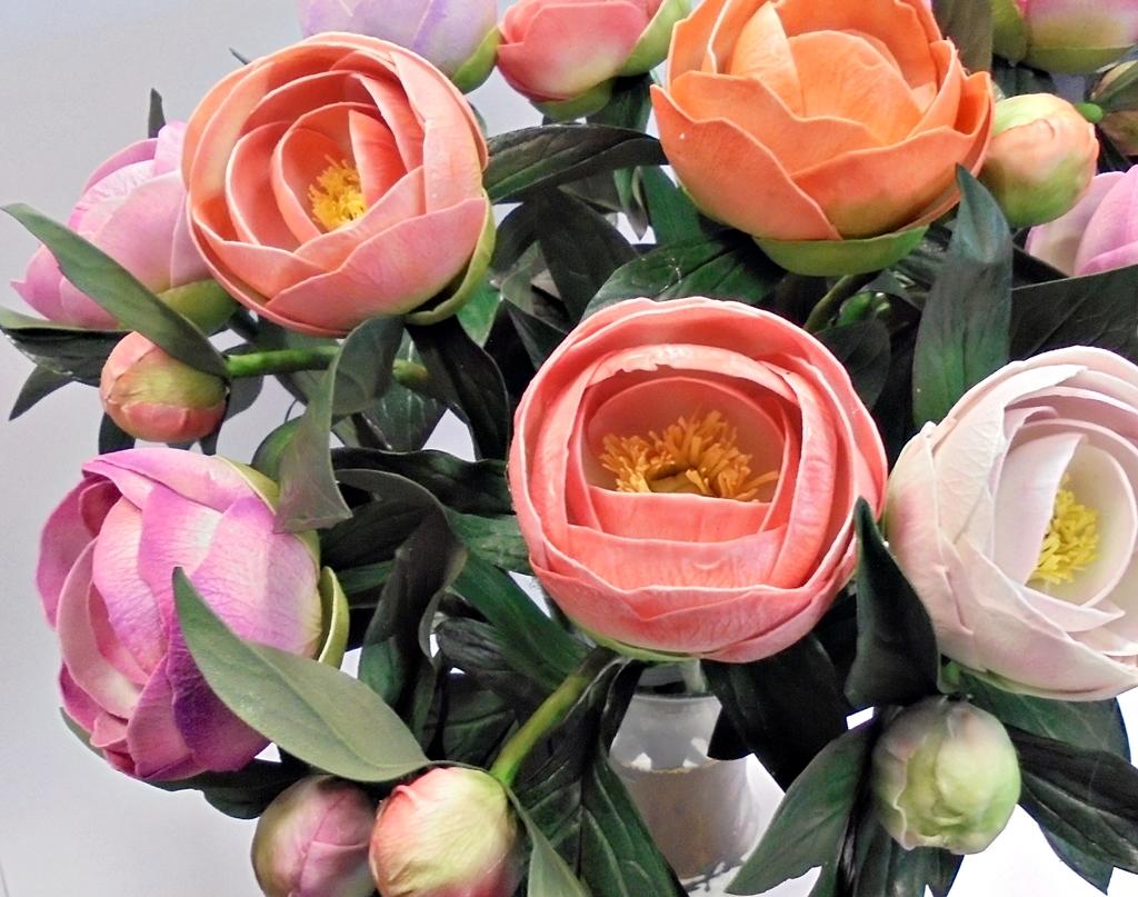 arthobbystudio lublin0011warsztaty foamiran peonia kwiaty 1