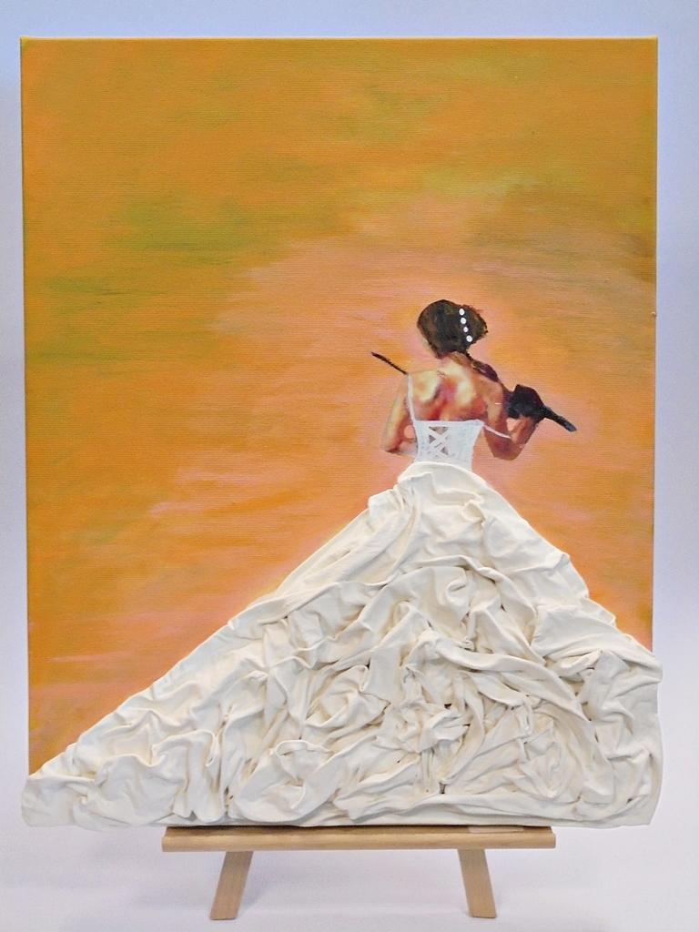 arthobbystudio lublin0012warsztaty obraz dama w sukni powertex