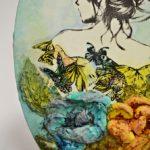 arthobbystudio lublin0015warsztaty obraz na dzien matki mixmedia pasta fiber podobrazie owalne 150x150