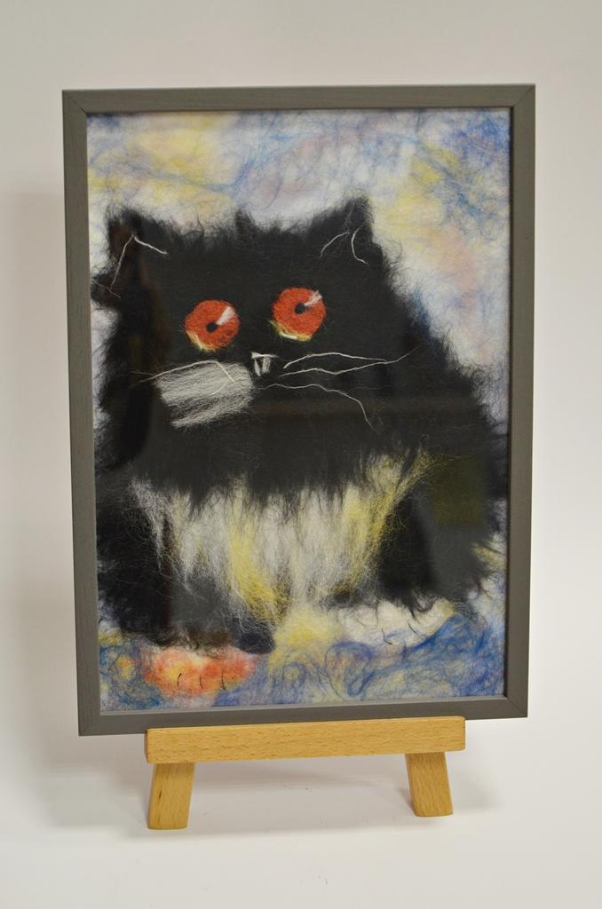 arthobbystudio lublin0016warsztaty obraz welna malowany kot