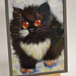 arthobbystudio lublin0021warsztaty obraz welna malowany kot 150x150