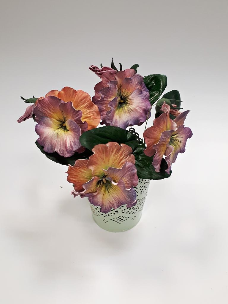 arthobbystudio lublin0025warsztaty foamiran bratki kwiaty