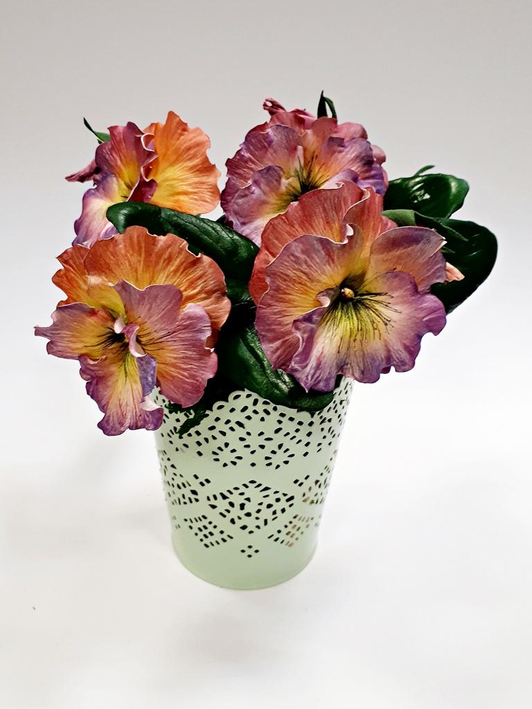arthobbystudio lublin0026warsztaty foamiran bratki kwiaty