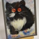 arthobbystudio lublin0026warsztaty obraz welna malowany kot 150x150