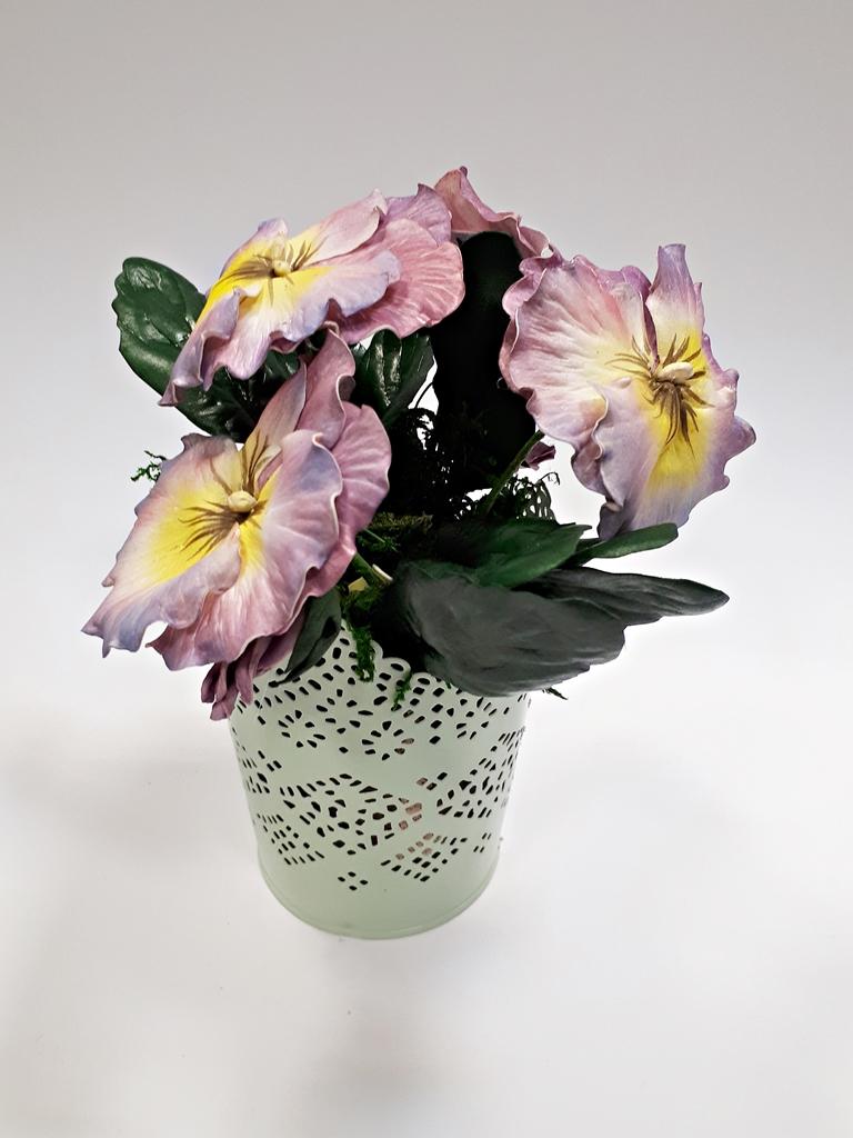 arthobbystudio lublin0027warsztaty foamiran bratki kwiaty