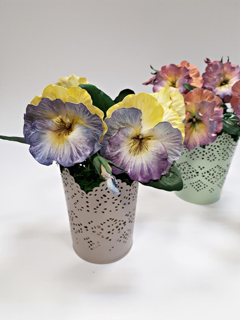 arthobbystudio lublin0029warsztaty foamiran bratki kwiaty