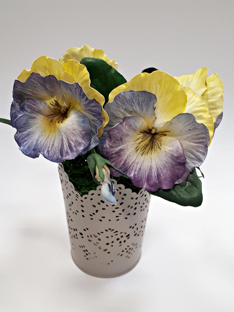 arthobbystudio lublin0030warsztaty foamiran bratki kwiaty