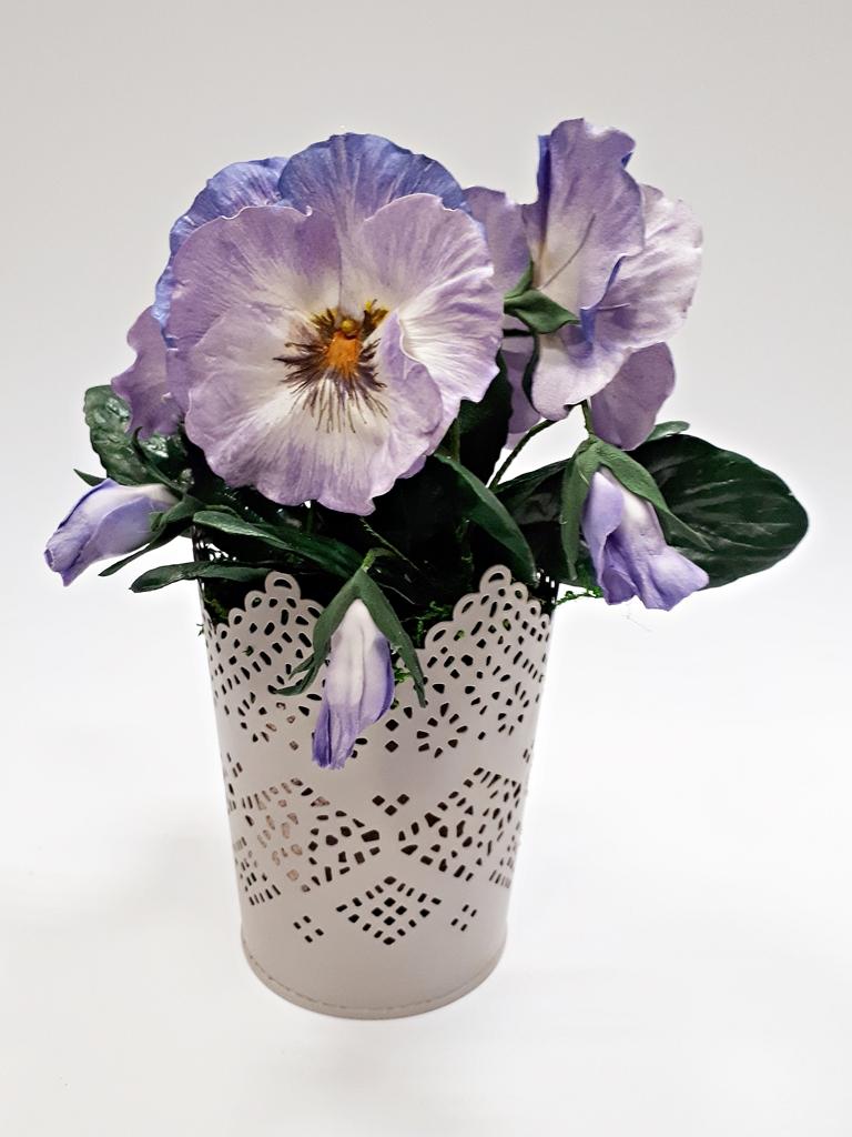 arthobbystudio lublin0033warsztaty foamiran bratki kwiaty