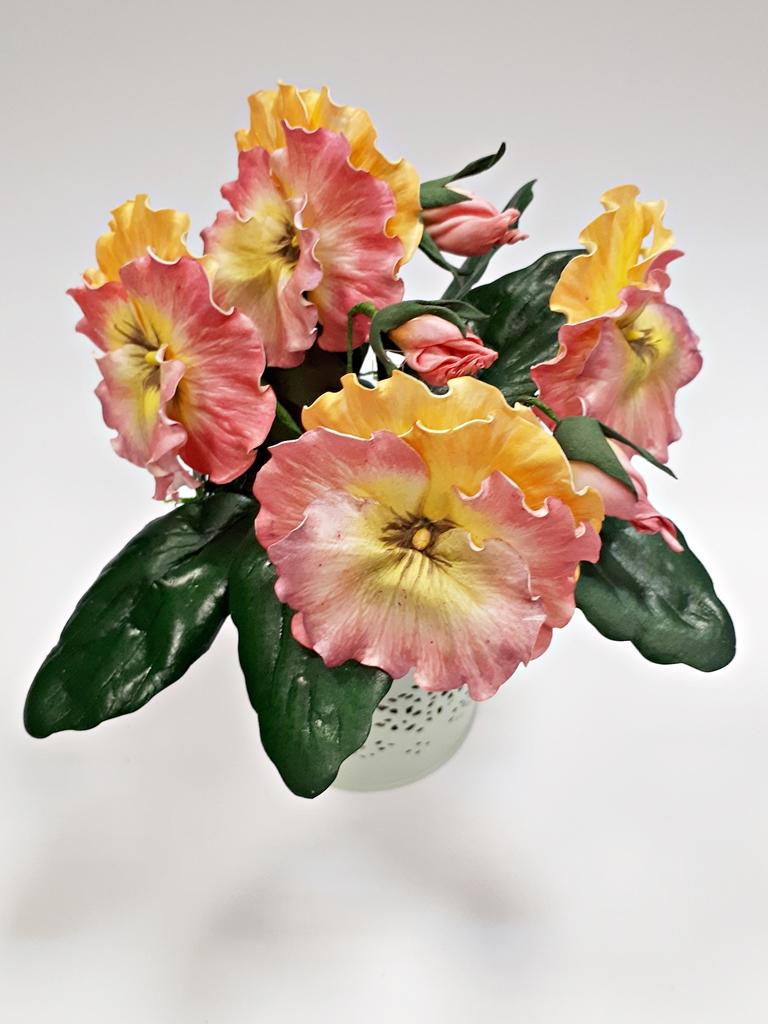 arthobbystudio lublin0035warsztaty foamiran bratki kwiaty