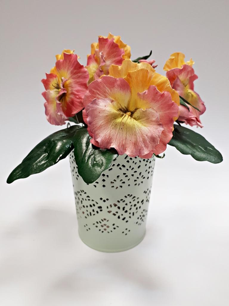 arthobbystudio lublin0036warsztaty foamiran bratki kwiaty