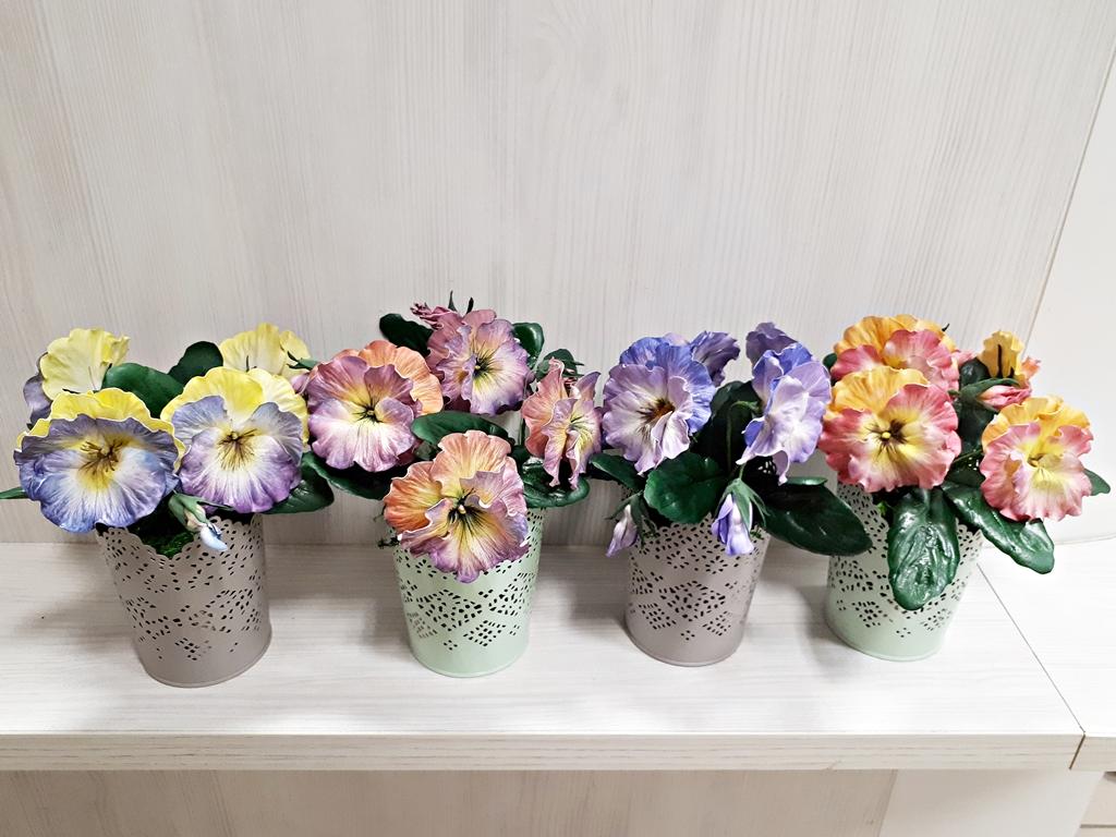 arthobbystudio lublin0037warsztaty foamiran bratki kwiaty
