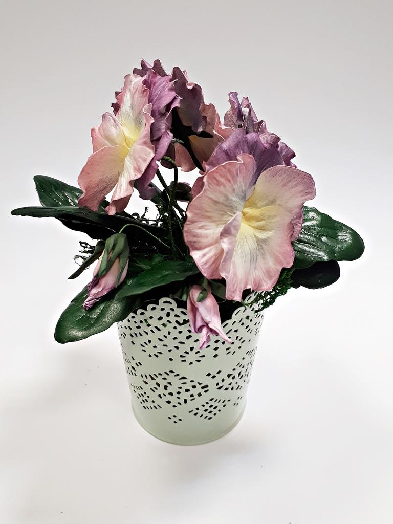 arthobbystudio lublin0042warsztaty foamiran bratki kwiaty