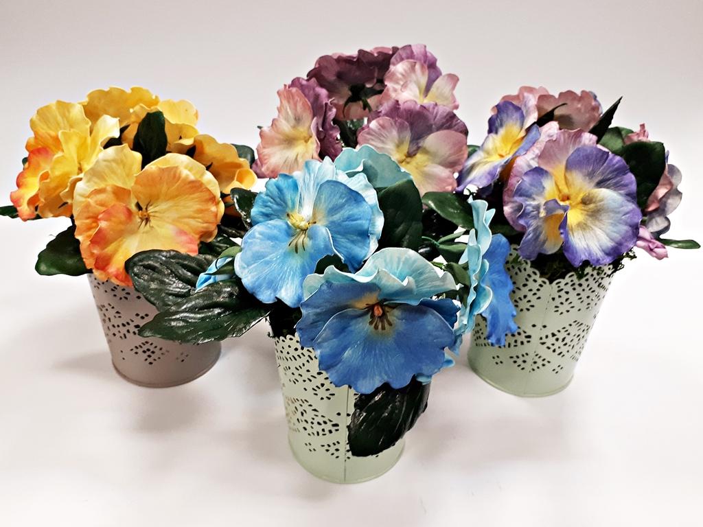 arthobbystudio lublin0043warsztaty foamiran bratki kwiaty