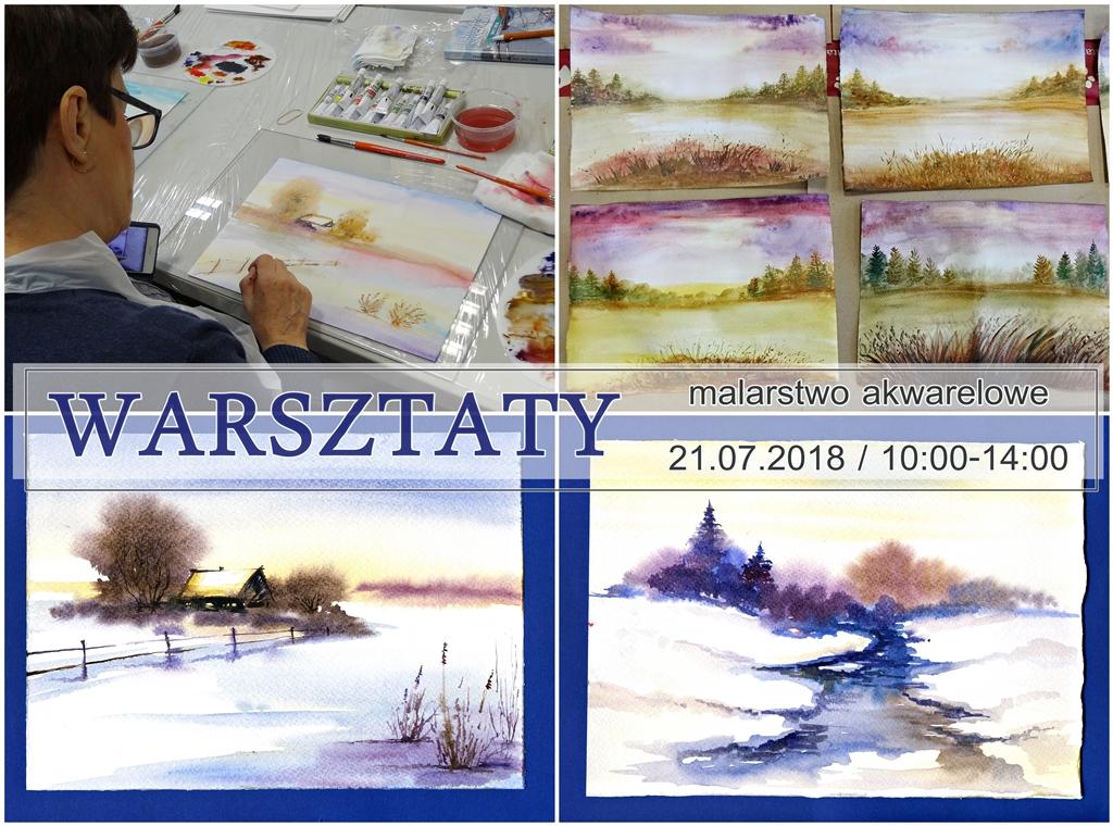arthobbystudio warsztaty malarstwo akwarelowe akwarele