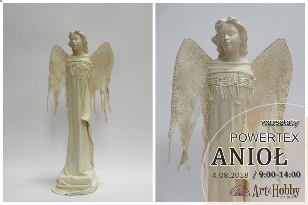 arthobbystudio warsztaty powertex anioł
