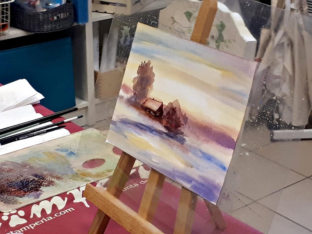 arthobbystudio lublin0004warsztaty akwarela malarstwo akwarelowe