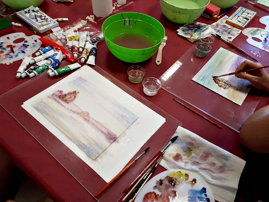 arthobbystudio lublin0011warsztaty akwarela malarstwo akwarelowe