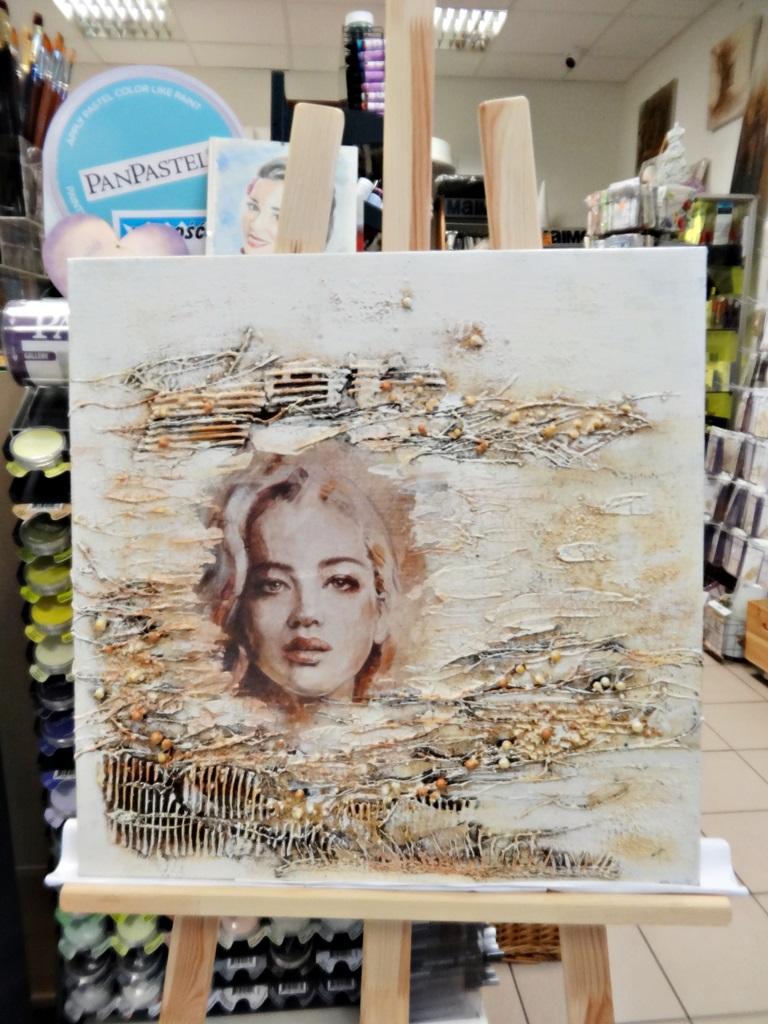 art hobby studioDSC03343warsztaty powertex obraz skalba anna