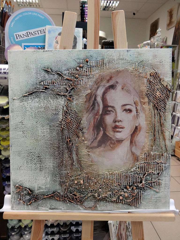 art hobby studioDSC03355warsztaty powertex obraz skalba anna