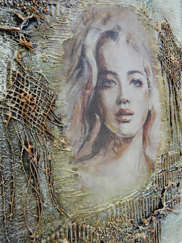 art hobby studioDSC03356warsztaty powertex obraz skalba anna