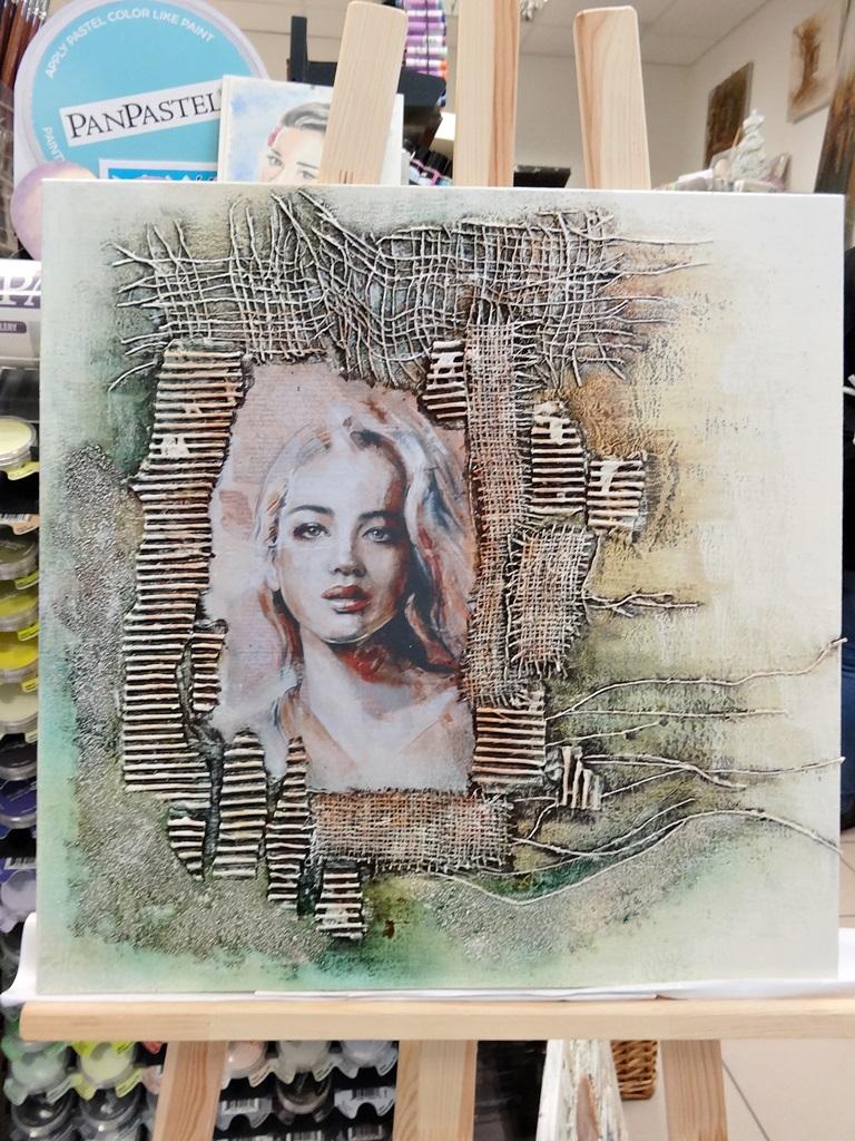 art hobby studioDSC03359warsztaty powertex obraz skalba anna