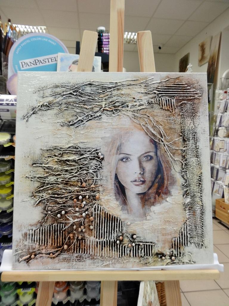 art hobby studioDSC03363warsztaty powertex obraz skalba anna